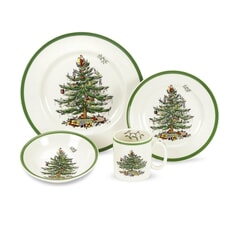Spode Christmas Tree - 4 Piece Set
