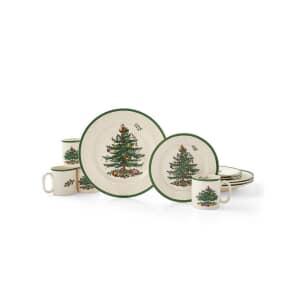Spode Christmas Tree - 12 Piece Box Set