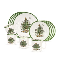 Spode Christmas Tree - 12 Piece Box Set