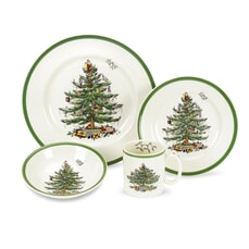 Spode Christmas Tree - 16 Piece Box Set