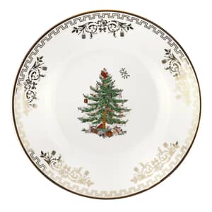 Spode Christmas Tree Tea Plate Gold