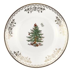 Spode Christmas Tree Tea Plate Gold