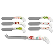 Portmeirion Christmas Wish - Cheese Knife and Spreaders
