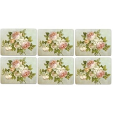 Portmeirion Pimpernel - Antique Roses Placemats Set Of 6