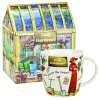 At Your Leisure - Lady Gardener Mug