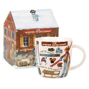 At Your Leisure - The Winter Sportsman Mug