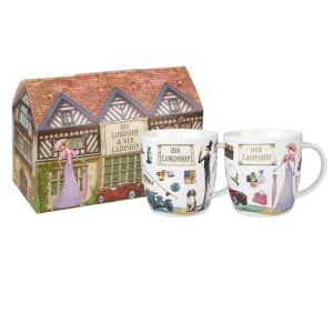 At Your Leisure - Lordship And Ladyship Set Of 2 Mugs