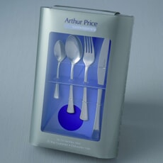 Arthur Price Cutlery Apollo 24 piece boxed set