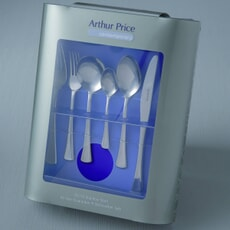 Arthur Price Cutlery Apollo 44 Piece Boxed Set