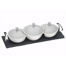 Arthur Price Kitchen Set Of 3 Mini Covered Dishes