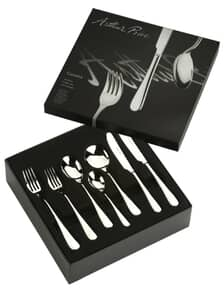 Arthur Price Cutlery Camelot 42 Piece Box Set + FREE Cake Server