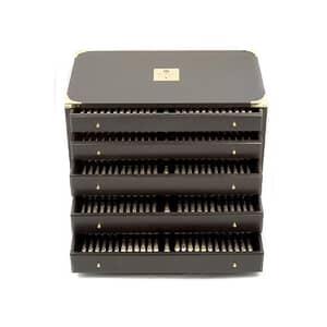 Arthur Price Clive Christian Empire Flame Silver Plate - 85 Piece Chest