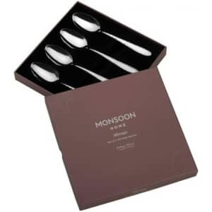 Arthur Price Monsoon Mirage - Set Of 4 Serving Spoons