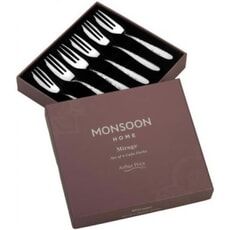 Arthur Price Monsoon Mirage - Set Of 6 Pastry Forks