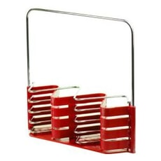 Arthur Price Palette Red Cutlery Holder