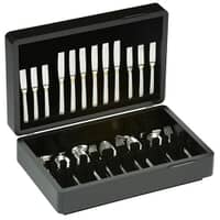 Arthur Price Westminster 44 Piece Canteen 6 Person Gold Highlights