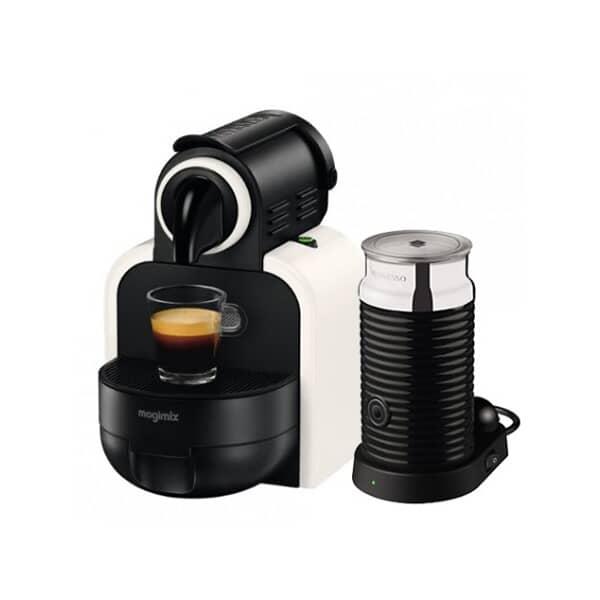 Magimix Nespresso Essenza White Sand And Aeroccino 3