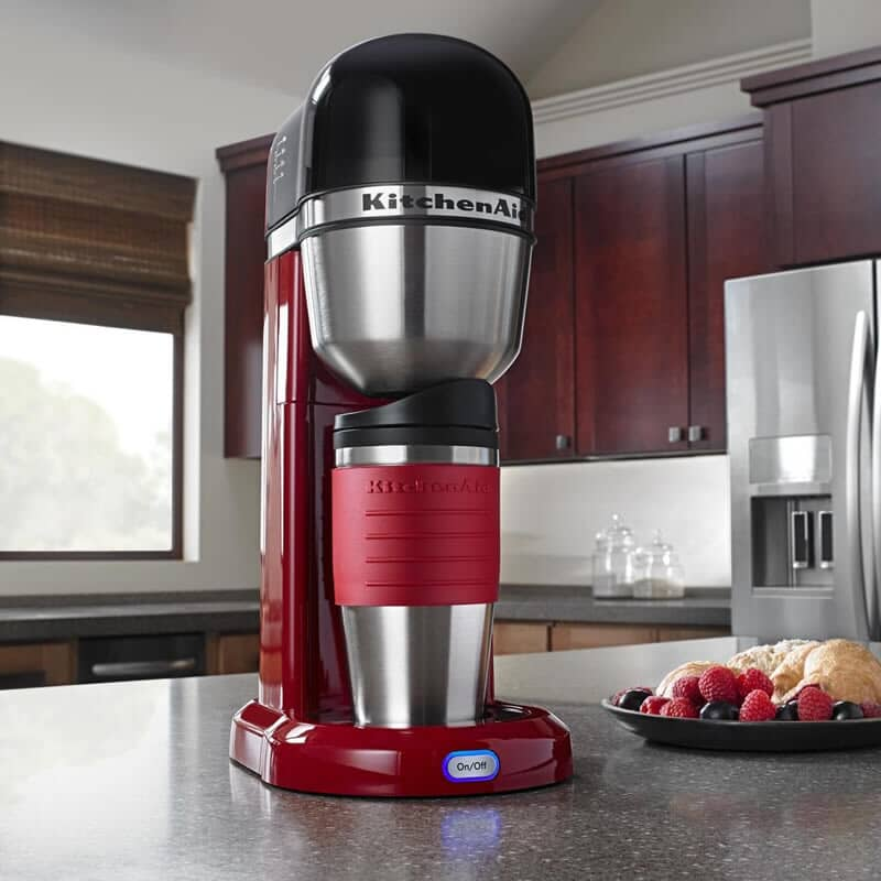 Kitchenaid Personal Coffee Machine Empire Red