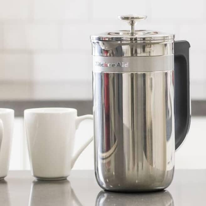 Kitchenaid Precision Press Coffee Maker Stainless Steel