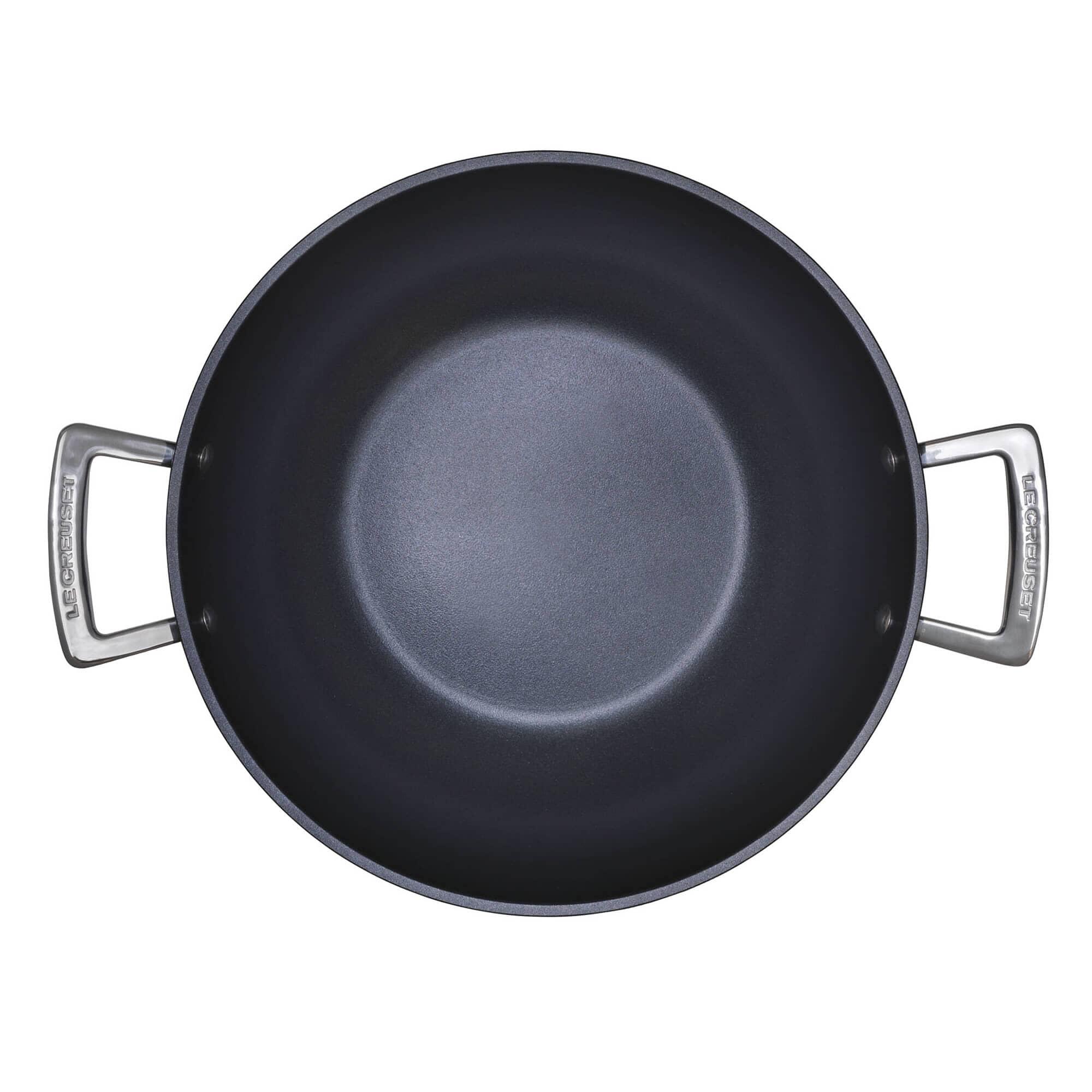 Le Creuset Tns 28cm Wok Stir Fry Pan 962011280 Ecookshop