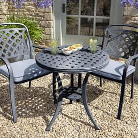 cast aluminium garden furniture sets