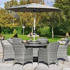 Hartman ellipse Weave Garden Furniture