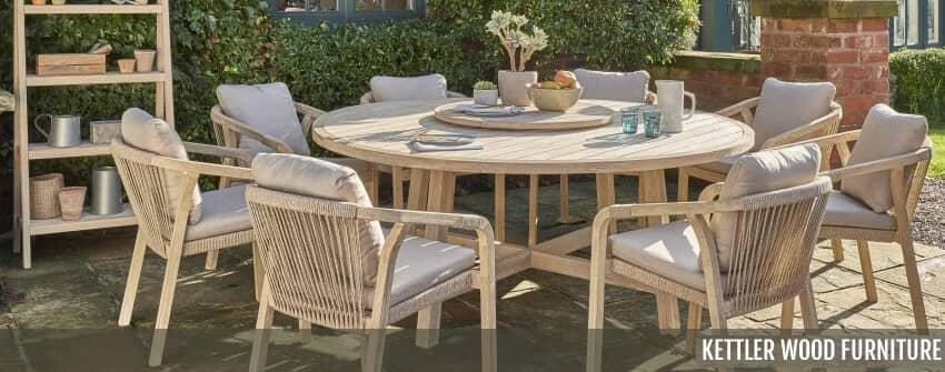 Kettler Wood Garden Furniture