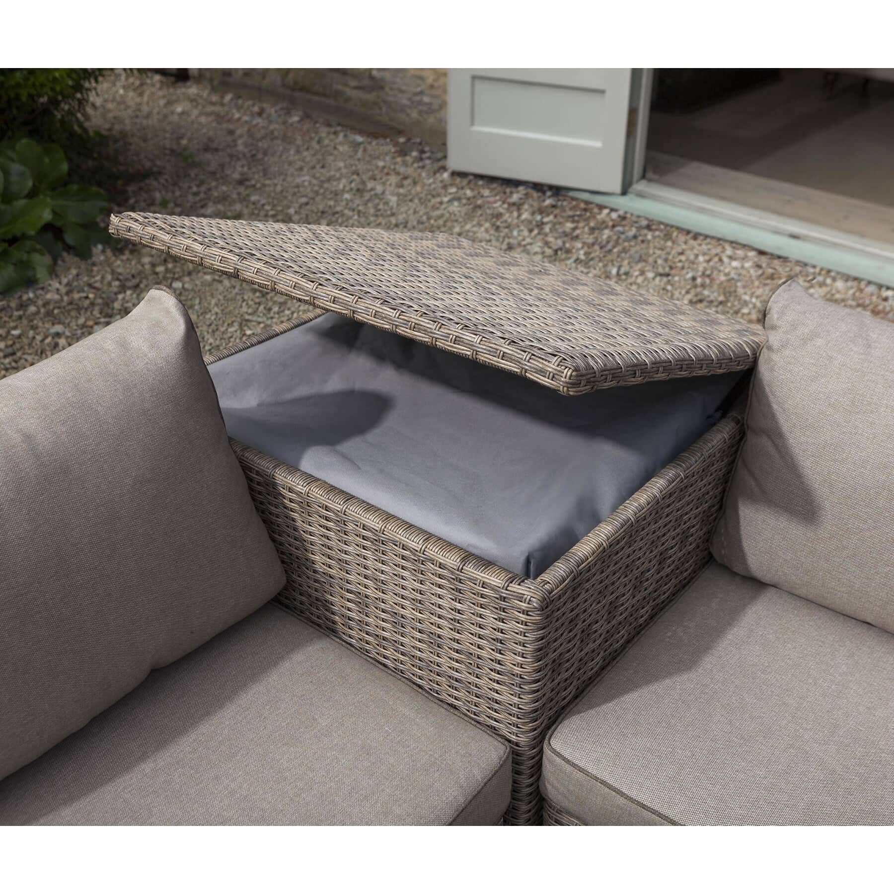 Hartman Appleton Essential Cushion Storage Table Corner