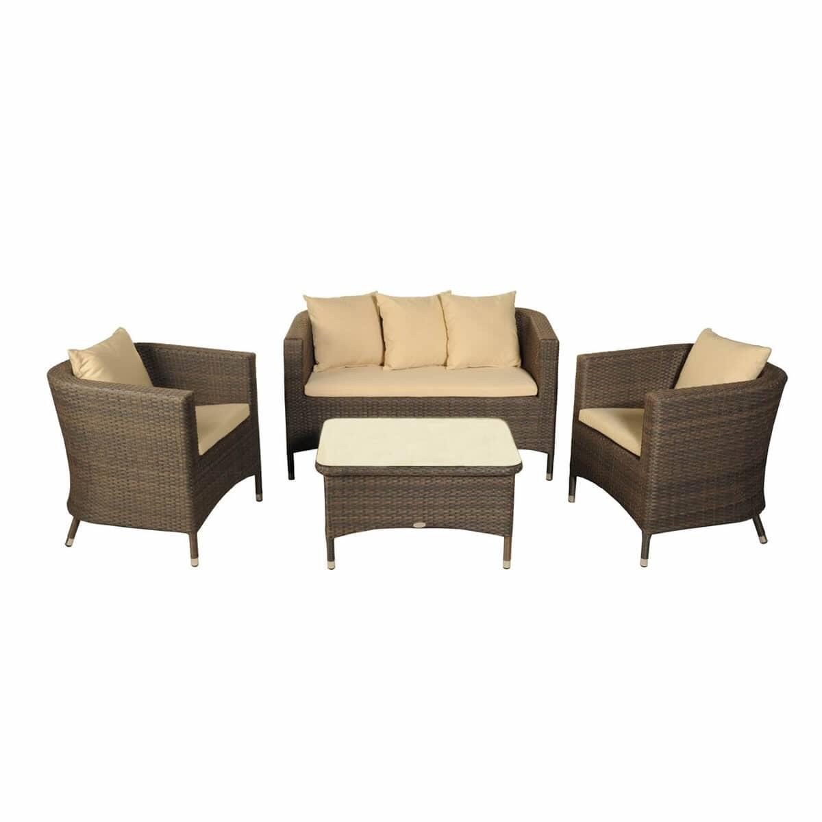 Bramblecrest Rio Classic Sofa Set Brioset10 Garden