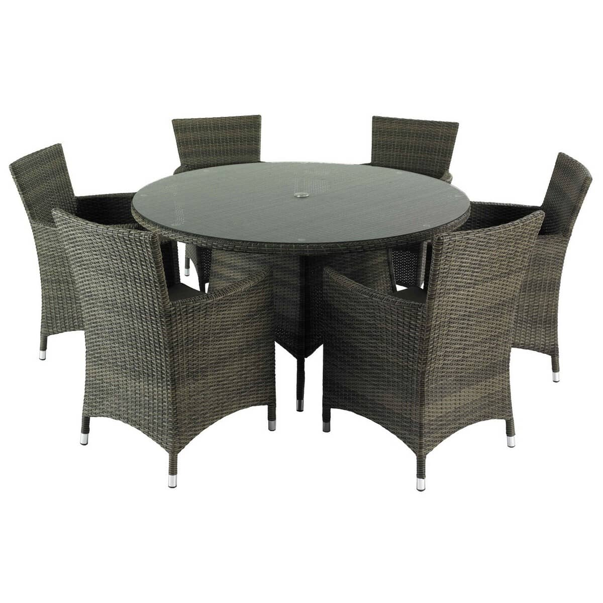 hartman bentley 6 seat dining set hbenset03 garden. Black Bedroom Furniture Sets. Home Design Ideas