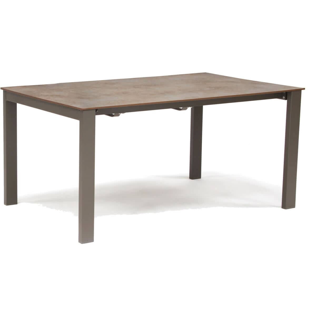 Milano extending hpl loft table taupe n0496 9313 for Furniture world