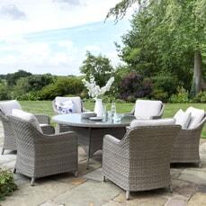 Kettler Charlbury - Casual Dining 6 Seat Round Set
