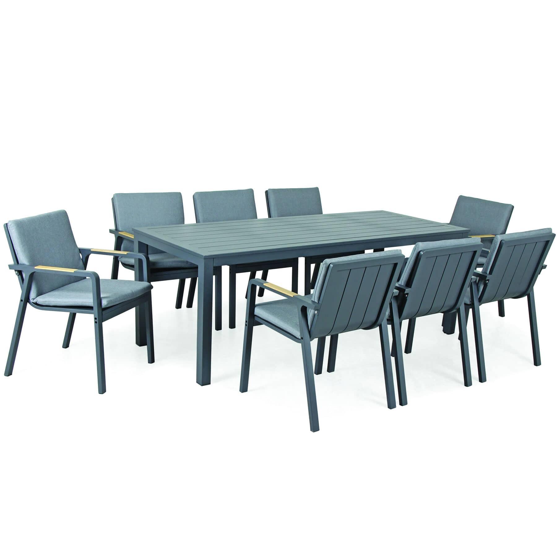 Kettler Paros 8 Seater Dining Set 0392107 0200c