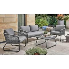 Kettler Kingston Lounge Set Consisting of: 2 x Lounge chair 1 x Sofa  1 x Coffee Table