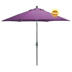 Kettler 2.9m Wind Up Parasol Amethyst