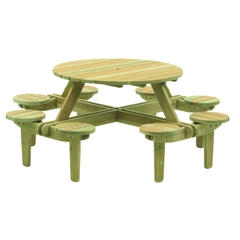 Alexander Rose Pine Gleneagles Table 8 Seater 1.1m