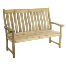 Alexander Rose Farmers Pine Bench 5ft