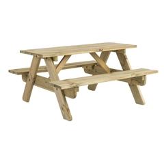 Pine Woburn Picnic Table 5ft