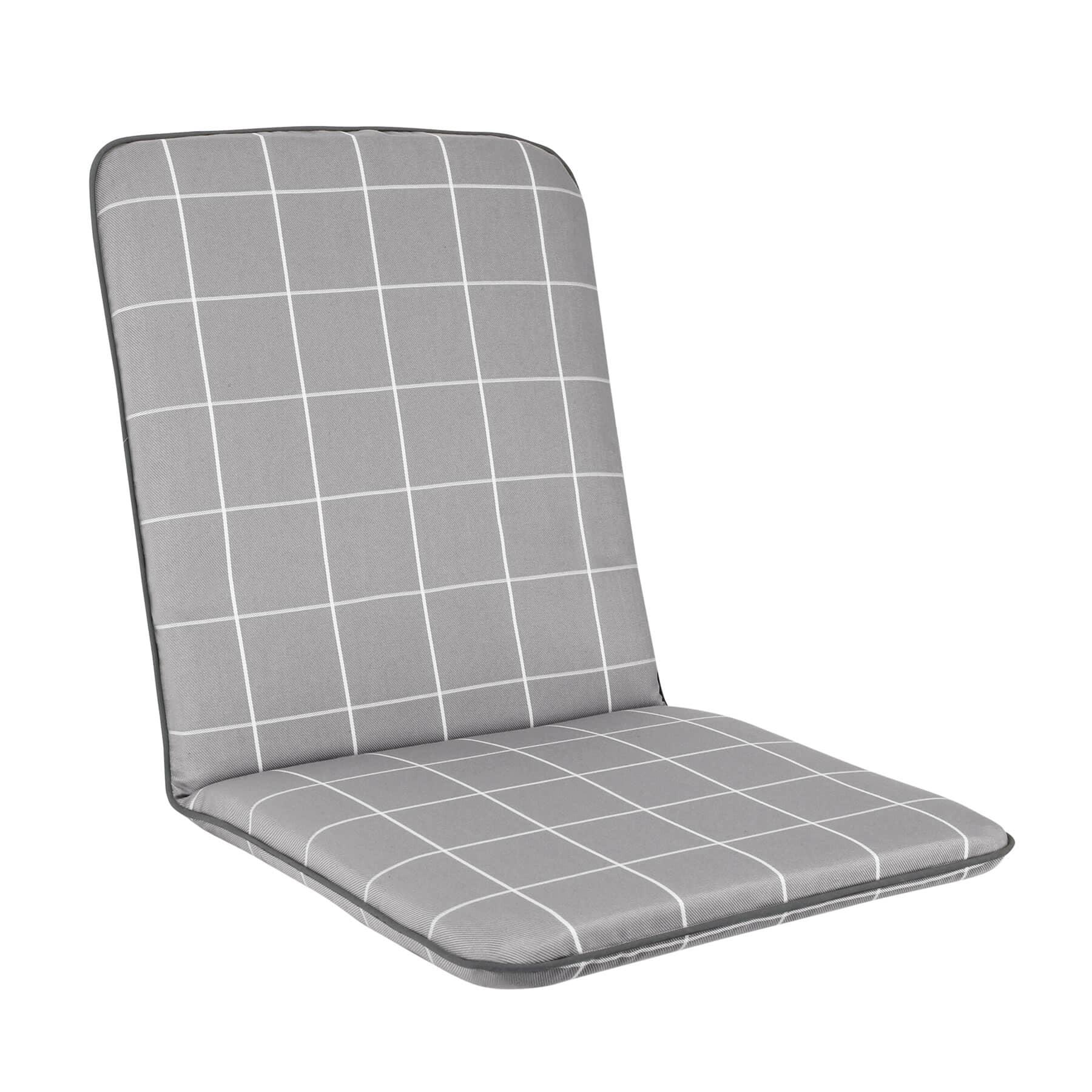 Kettler Siena Chair Cushion Slate Check 51s930
