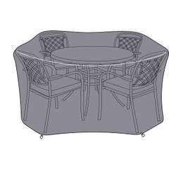 Hartman 4 Seat Round Dining Set Cover - Small