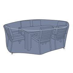 Hartman 6 Seat Rectangular Set Cover - Medium