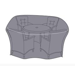 Hartman Heritage/Westbury 4 Seat Round Dining Set Cover