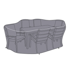 Hartman Vienna 6 Seat Rectangular Cover