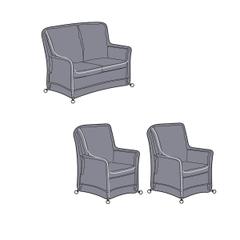 Hartman Heritage 2 Seat Reclining Lounge Set Cover