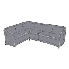 Hartman Henley Rectangular Corner Sofa Cover - Right Hand
