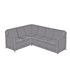Hartman Cirrus Rectangular Casual Corner Sofa Cover