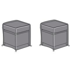 Hartman Cirrus Casual Stool Cover Set (x2)