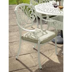 Hartman Amalfi Dining Chair w/cushion Maize/Wheatgrass