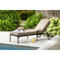 Hartman Amalfi Lounger w/Cushion Bronze/Amber