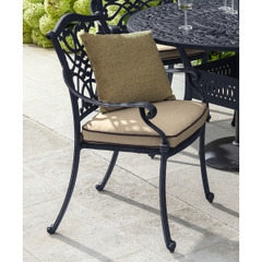 Hartman Capri Dining Chair w/cushion Traditional Bronze/Amber